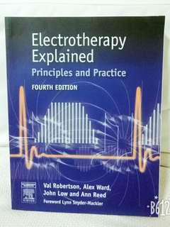 Physiotherapy Book: Electrotherapy Explained Principles and Practice 4th Edition