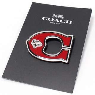 🚚 (可議)Coach 別針、經典C字母