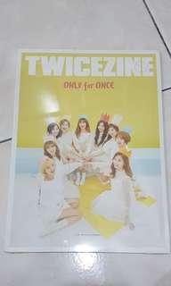 TWICE Fanclub Kit TWICEZINE Photobook