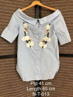 f20431c15c21cf Hollyhoque Vicky Cool Shoulder Spag Top White
