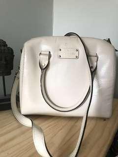 Kate Spade Vintage White Purse