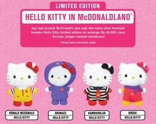 Brand New In Package Mcdonald Hello Kitty