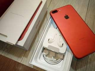 Iphone 7+128gb red edetion Factory unlock