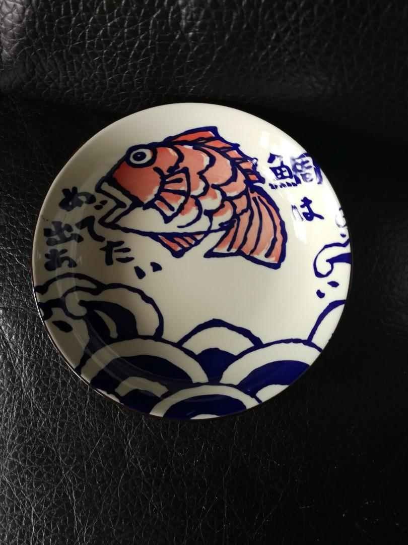 和風鯛魚大圓碟