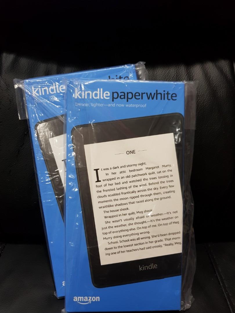 (Free Ebooks) All-new Kindle Paperwhite (waterproof)