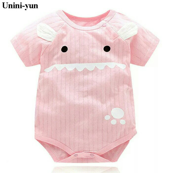 57211a0a4a18 Baby Rompers Summer Baby Girl Clothes Baby Boys Clothing Sets Short ...