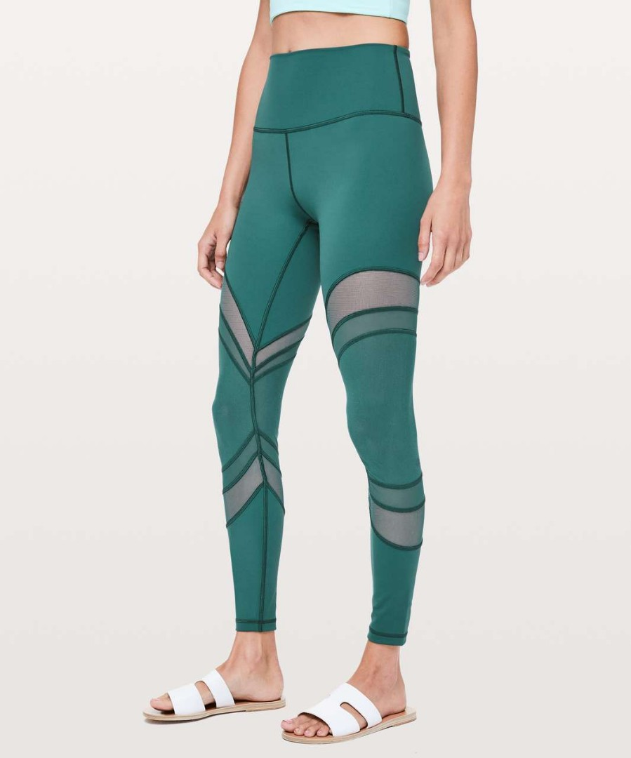 f07c42217b38a Bnwt lululemon seek the heat tight in size 4, Sports, Sports Apparel ...