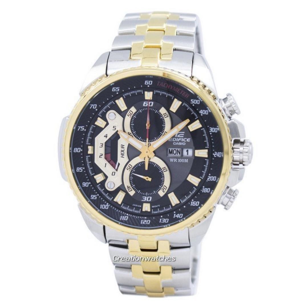 be30a5afcd97 Casio Edifice Chronograph Tachymeter EF-558SG-1AV Men s Watch