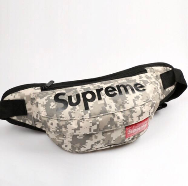 ae0447b8 CNY SALE‼ INSTOCK Supreme Army Green Sling Bag Waist Pouch, Men's ...