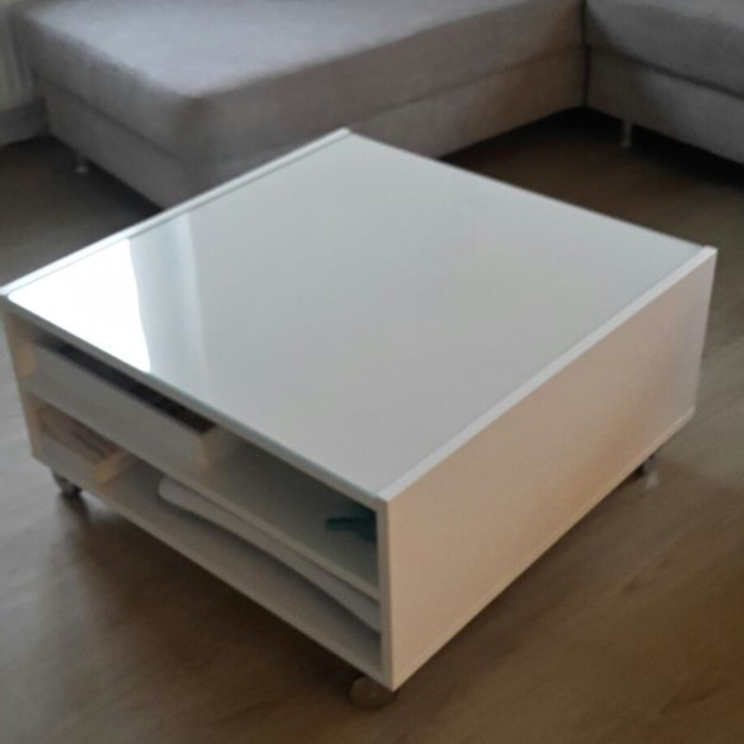 - Coffee Table IKEA BOKSEL, Furniture, Tables & Chairs On Carousell