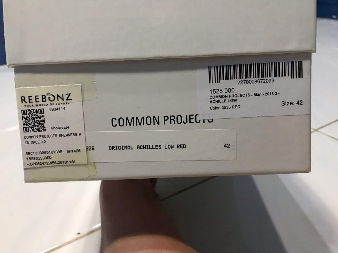 Common Project Achilles Low Size 42