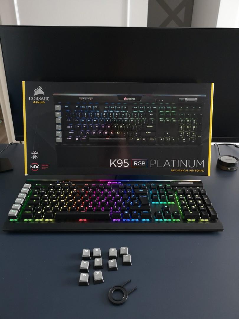 Corsair K95 RGB PLATINUM, Electronics, Computer Parts