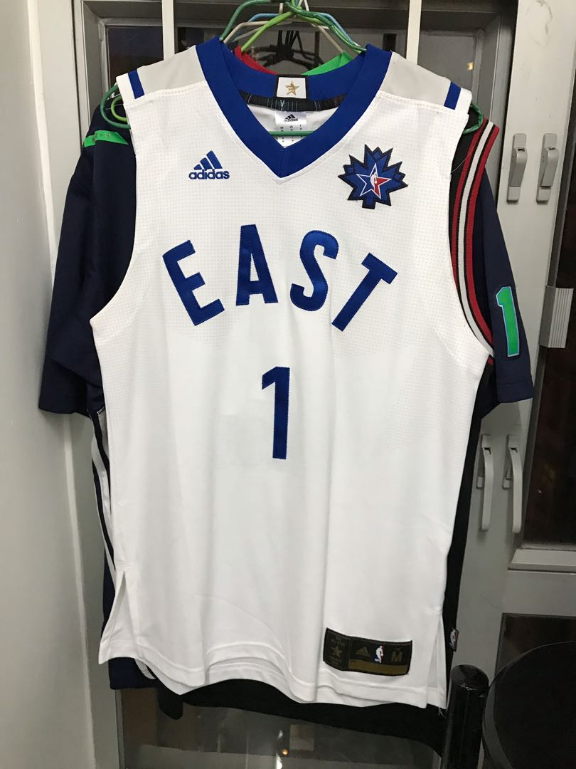 super popular fb26d 897ee Derrick rose all star game jersey