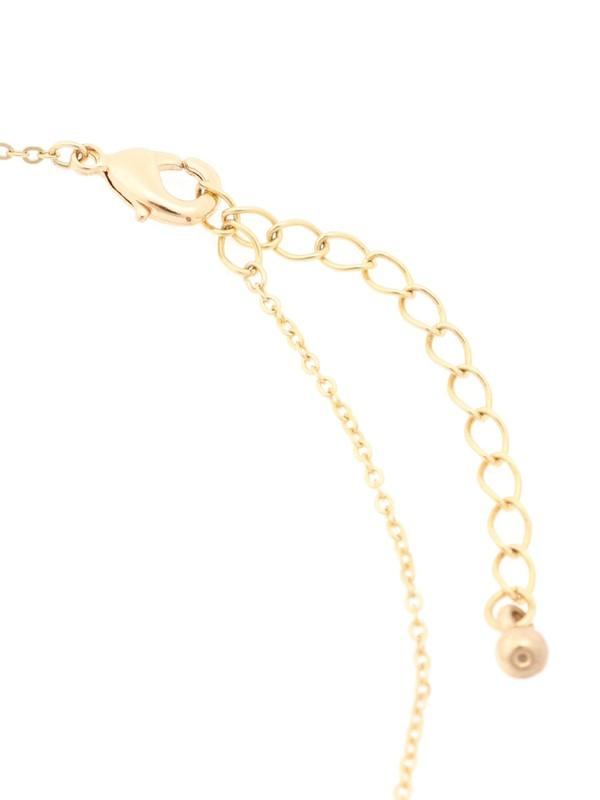 Earth Music & Ecology Linear Ribbon Pearl Necklace  珍珠頸鏈