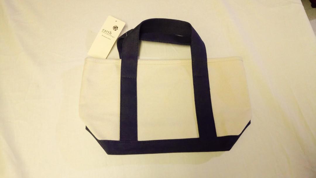 Earth Music & Ecology tote bag 手提袋 未剪牌