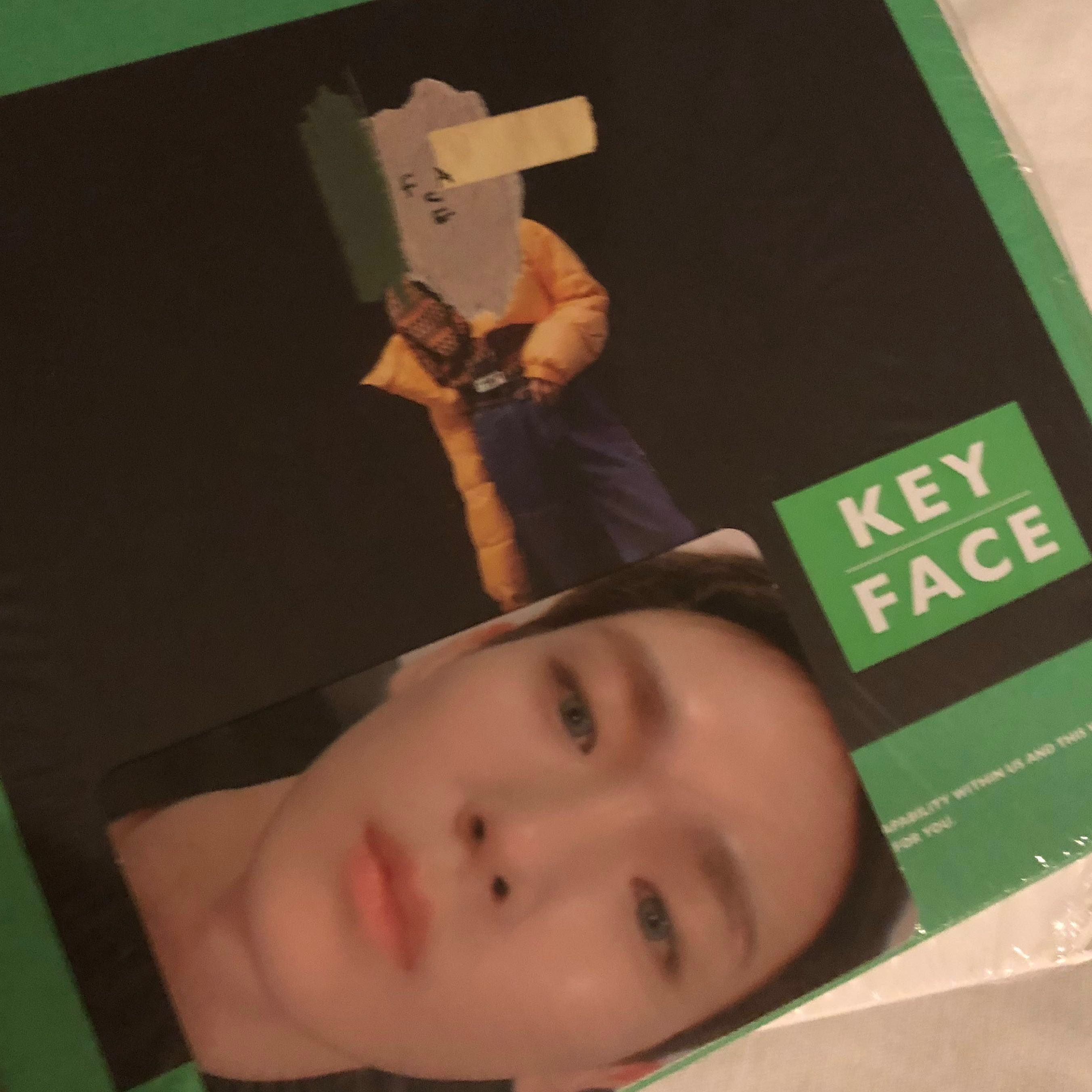 FACE - SHINee KEY Solo Album + Photo card!!!
