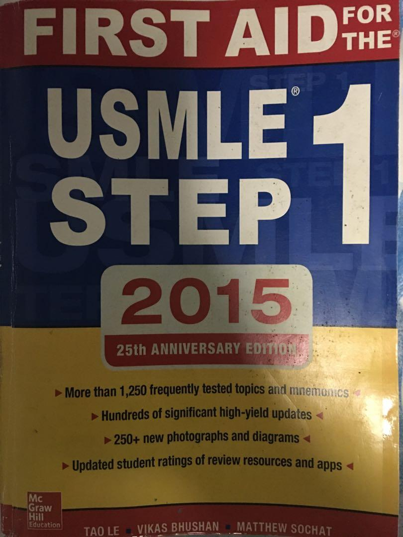 First Aid for the USMLE Step 1, Books & Stationery