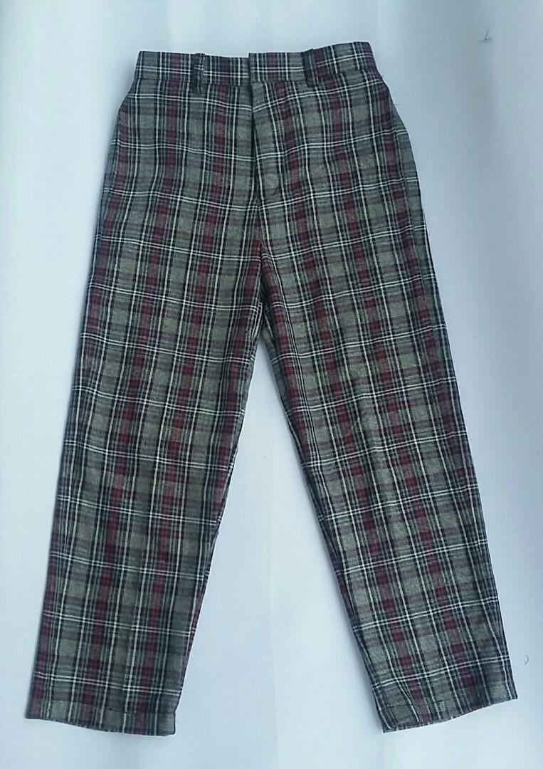 Flanel Long Pants only 135k!! Bisa Custom!