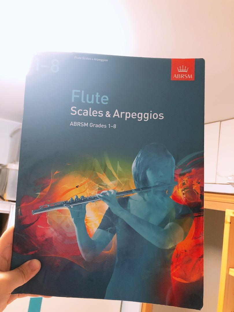 Flute scales&arpeggios (ABRSM Grades 1-8)