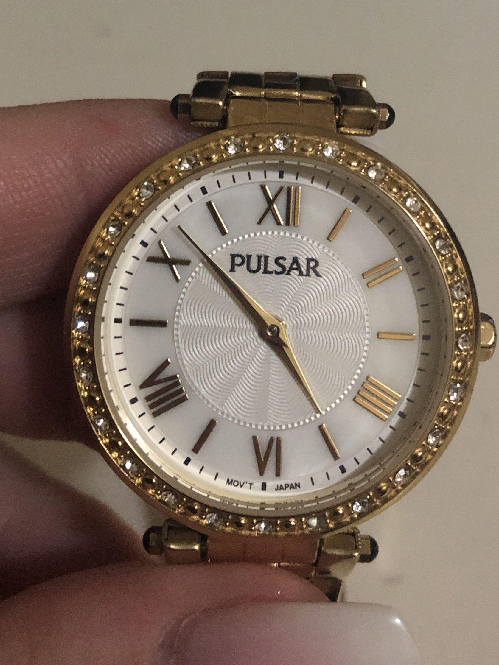 Gold Pulsar Ladies Watch