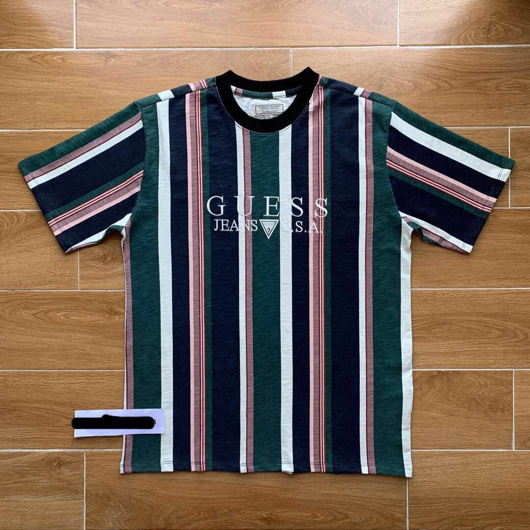093f2684a6fda Guess Jeans Vintage Striped T Shirt | Saddha