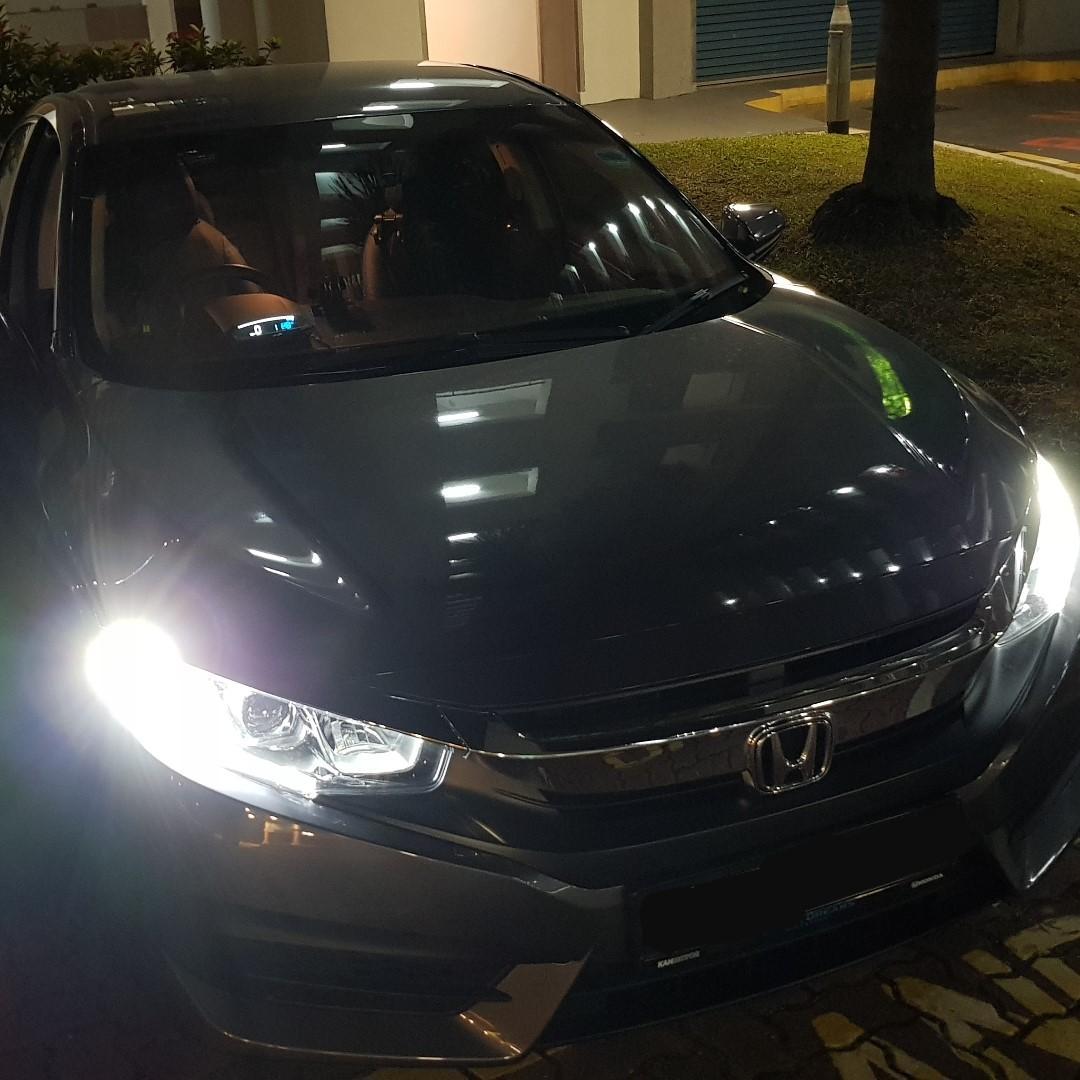 Honda Civic FC EANOP HUD OBD OBD2 Gauge, Car Accessories
