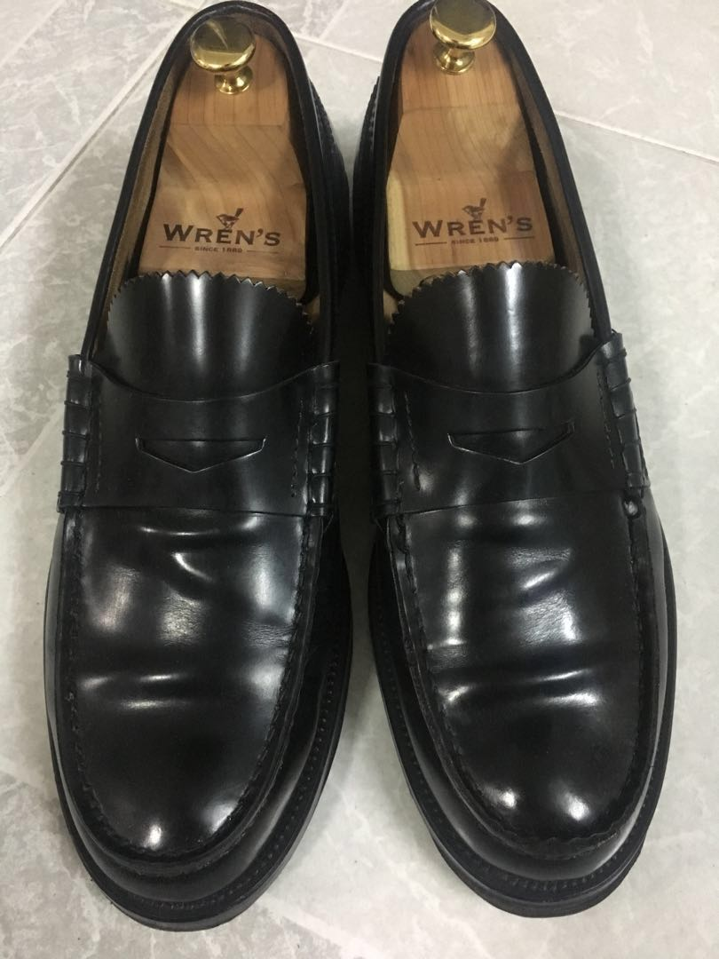 021ecec2710 Made in Italy Black Calf Penny Loafer