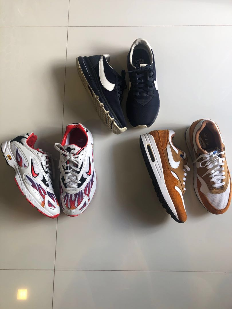 sports shoes 8a1e2 9dc19 Nike shoes for sale! Nike X supreme air zoom. Nike air max htm. Nike Air Max  curry, Men s Fashion, Footwear, Sneakers on Carousell