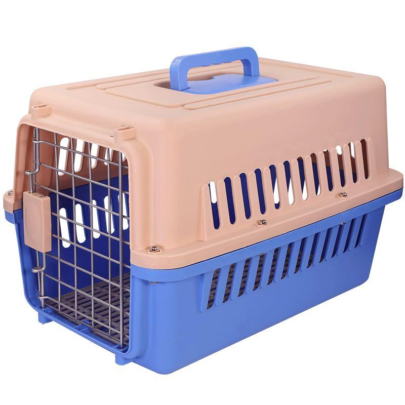 Pet cage,手提寵物箱,飛機籠,寵物航空箱,適合貓狗
