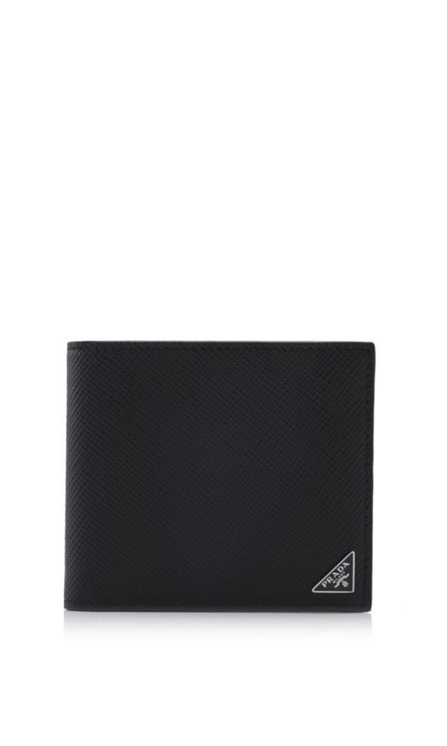 93ee1b18383c Prada (Saffiano Cuir Bifold Wallet), Men's Fashion, Bags & Wallets ...