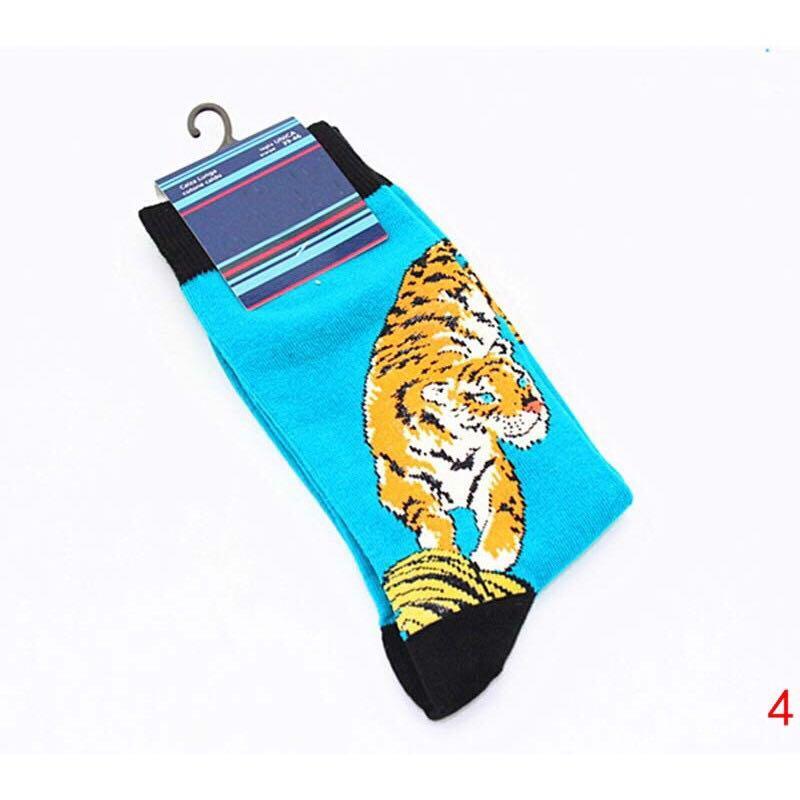 [pre-order] graphic high socks