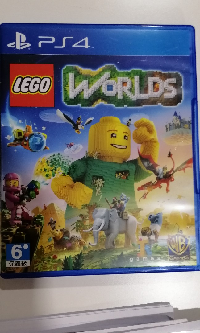 ps4 lego world, toys & games, video gaming, video games on carousell