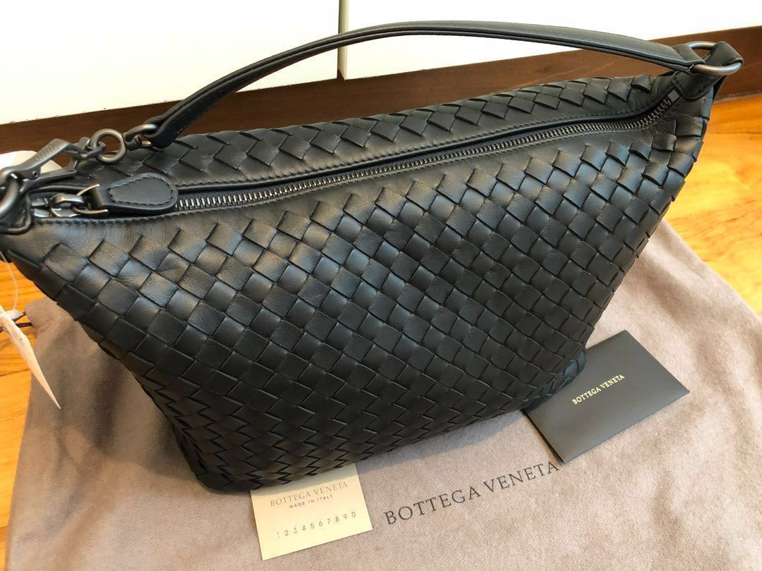 4254801420 🖤reduced!🖤Bottega Veneta Black small hobo bag