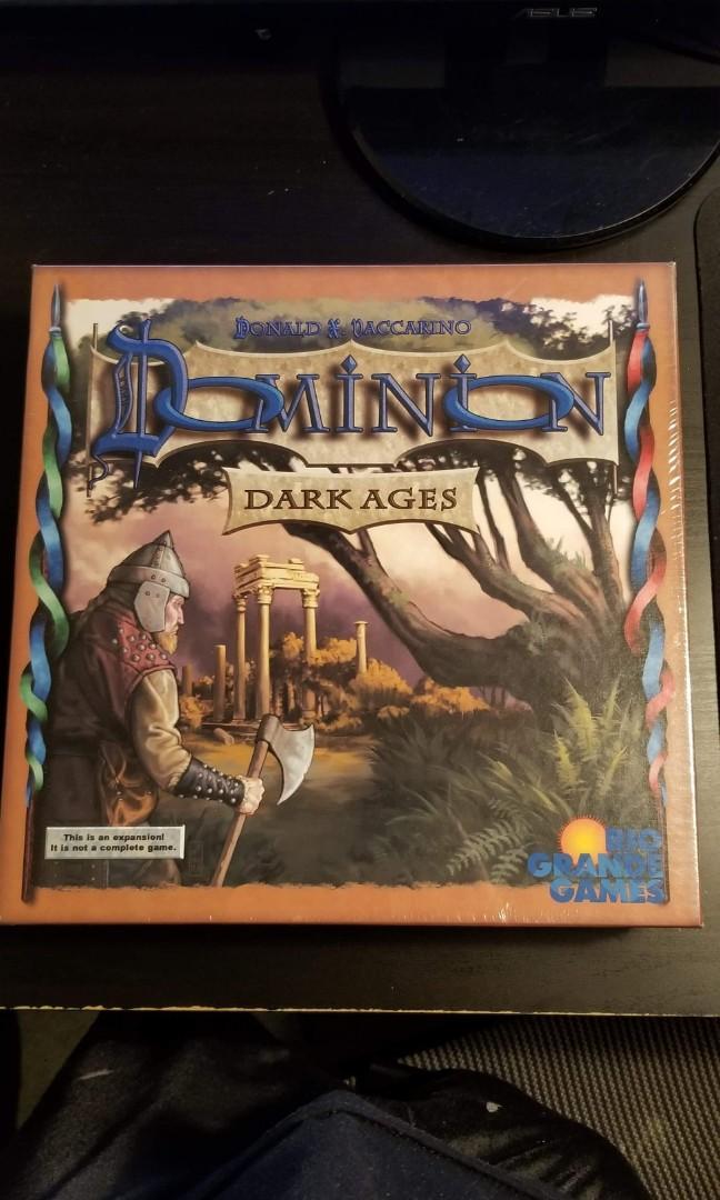 Rio Grande Games 481 RIO Dominion Dark Ages Expansion