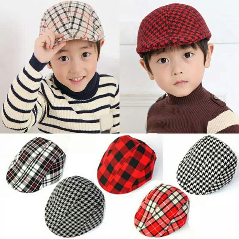 1086589c1 series Design England Style Children Fashion Cap Summer Berets Baby ...