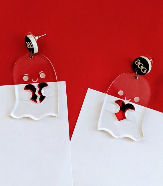 Spooky Valentines Earrings
