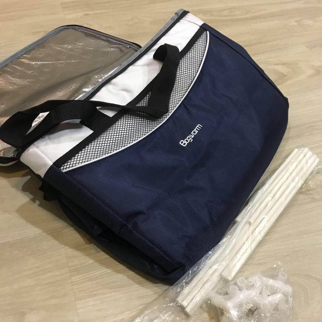 Thermal warmer cooler delivery picnic camping bag
