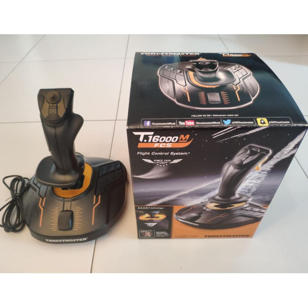 Thrustmaster T16000M FCS, Toys & Games, Video Gaming, Gaming