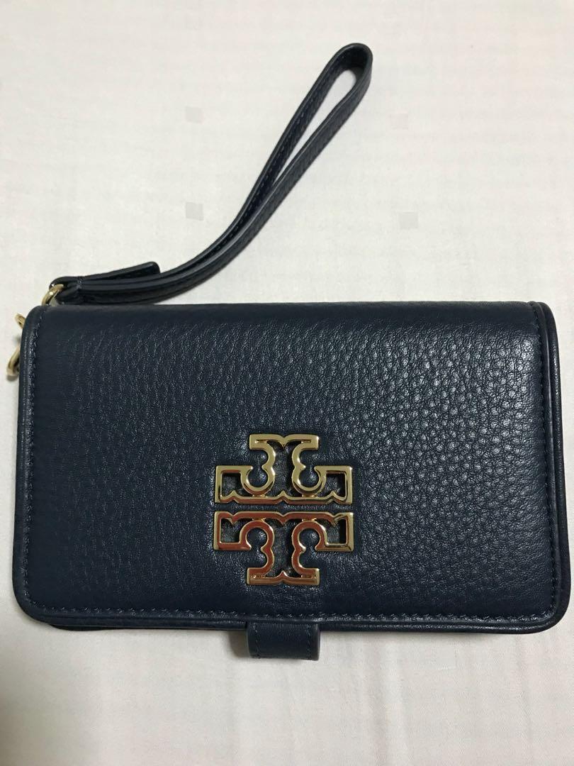 6745512e08c8 Tory burch Britten Smartphone wallet (100% original)