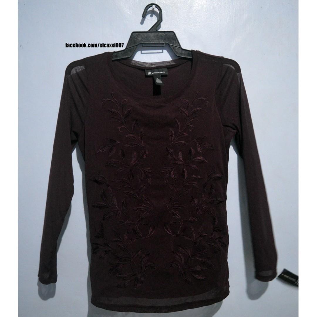 481f1e9a182f UNBRANDED BRAND NEW - Long Sleeve (Dark Maroon)