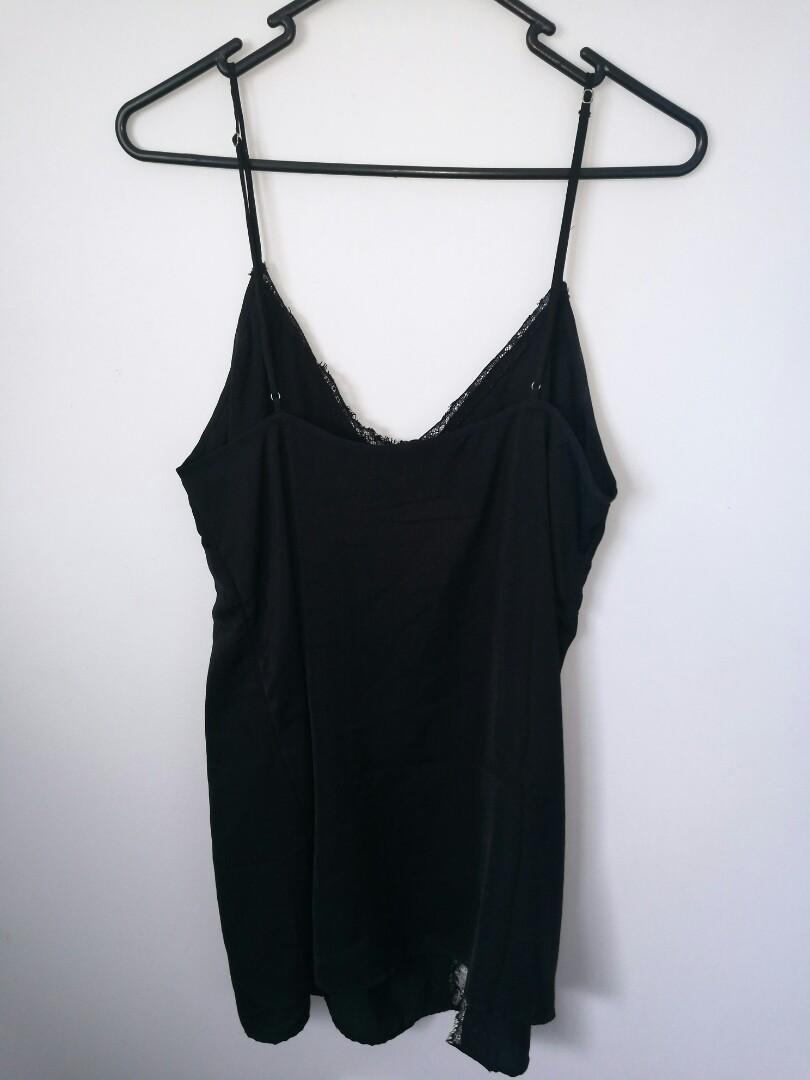 Urban outfitters black slip dress #SwapNZ