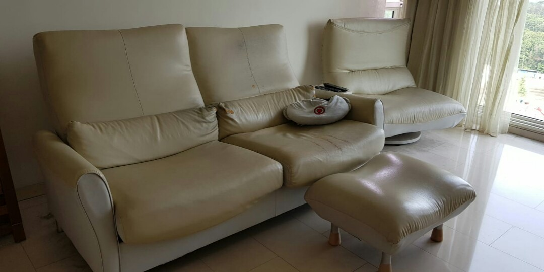 Used Recliner Sofa Furniture Sofas On Carousell