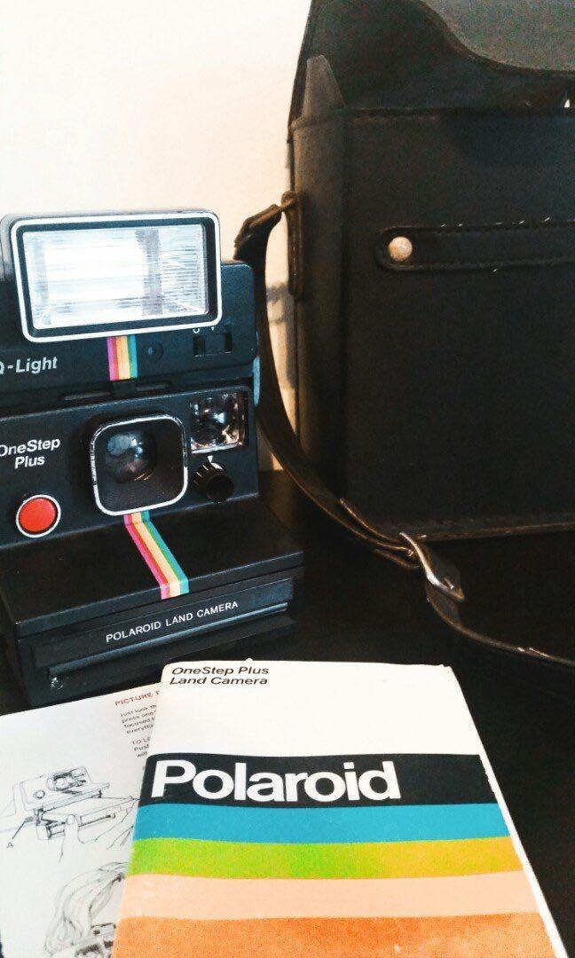 Vintage Original Polaroid One Step Plus Land Camera