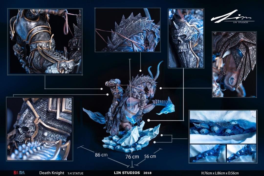 WARCRAFT Statue Death Knight Arthas Lich King, Toys & Games