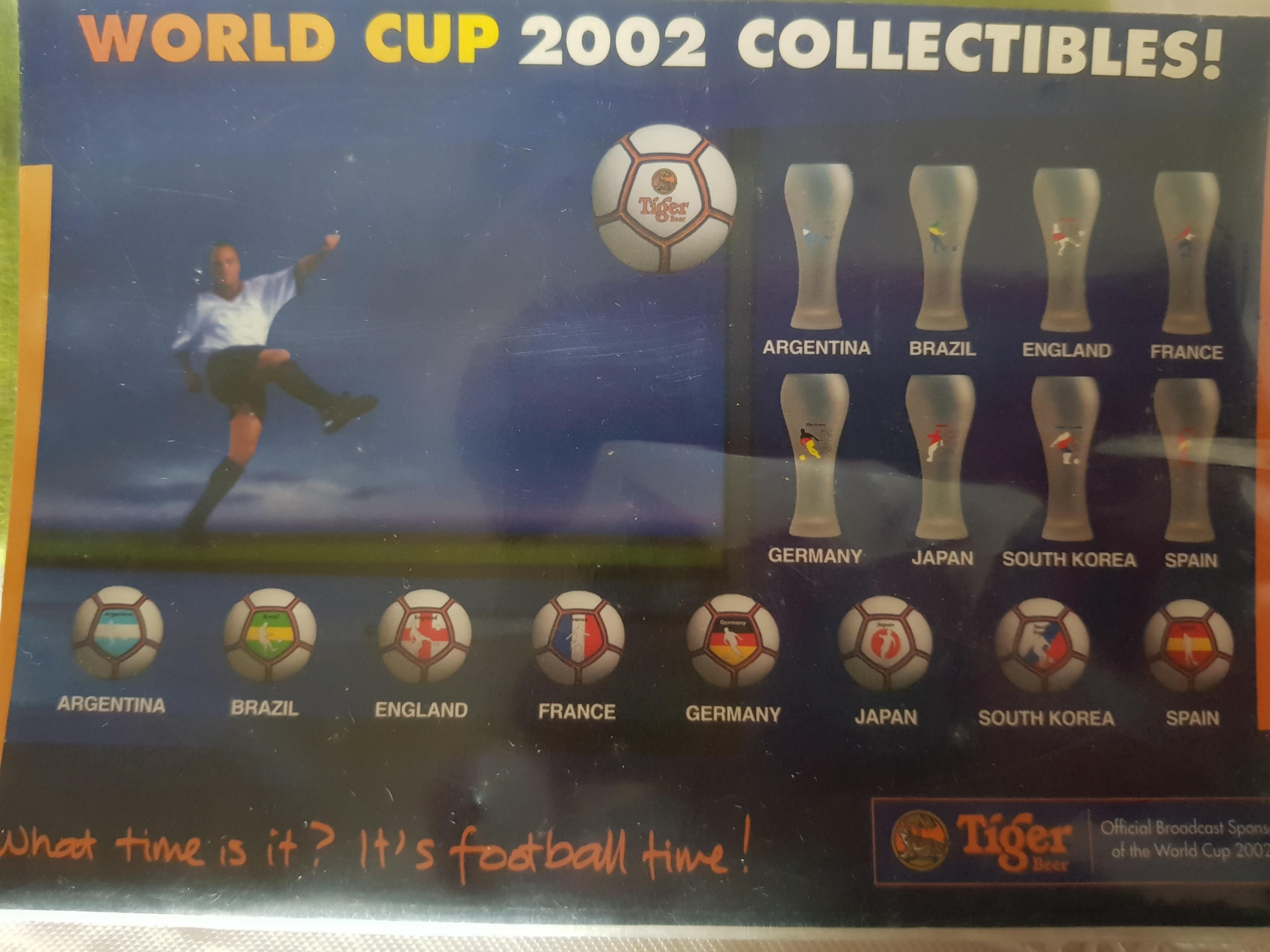 World Cup 2002 Collectibles Beer Cup