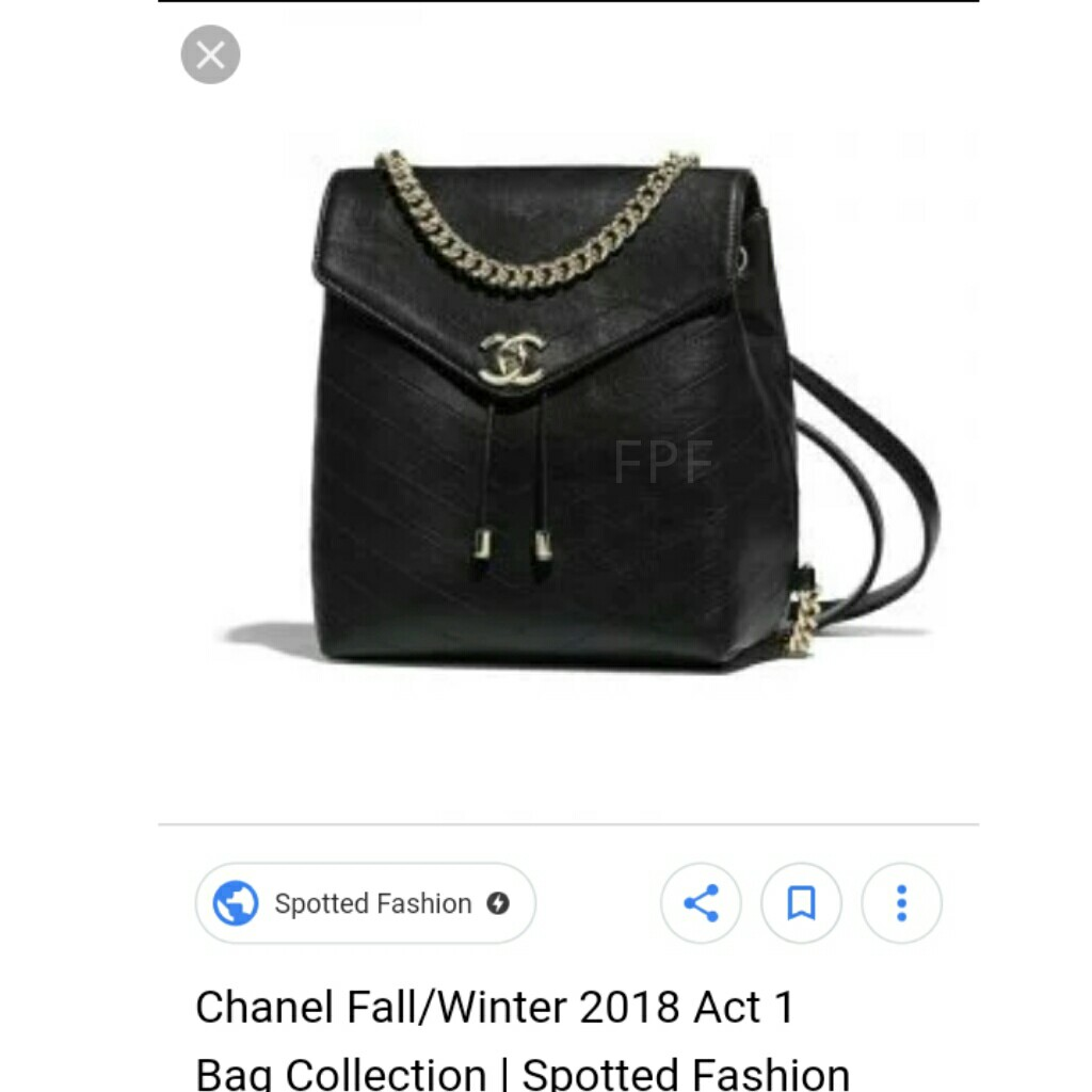 aeee56fbd34a CLEARANCE SALE Chanel Backpack CC Backpack Chanel Coco Chevron Bag Chanel  Coco Chevron Backpack Chanel Bag CC Bag