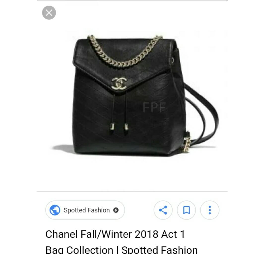 aa7cc1acae22 CLEARANCE SALE Chanel Backpack CC Backpack Chanel Coco Chevron Bag Chanel  Coco Chevron Backpack Chanel Bag CC Bag
