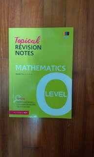 O Level Mathematics Guide Book