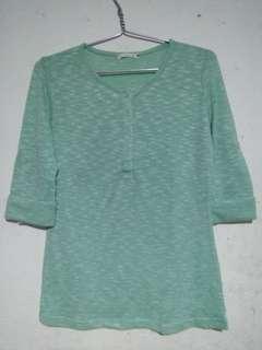 Blus hijau