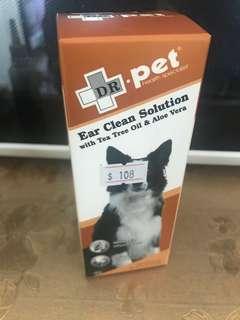 DR pet 蘆薈茶樹油 洗耳水 消炎 止痕 清潔 貓狗用